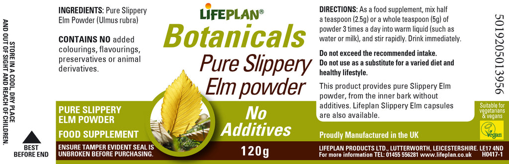 Slippery Elm Powder 120g