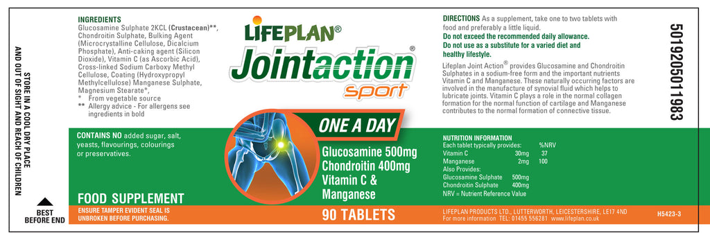 Joint Action Sport 90 tabs