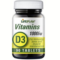 Vitamin D 1000iu 90 Tablets