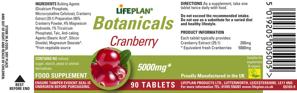 Cranberry Extract 90 tabs