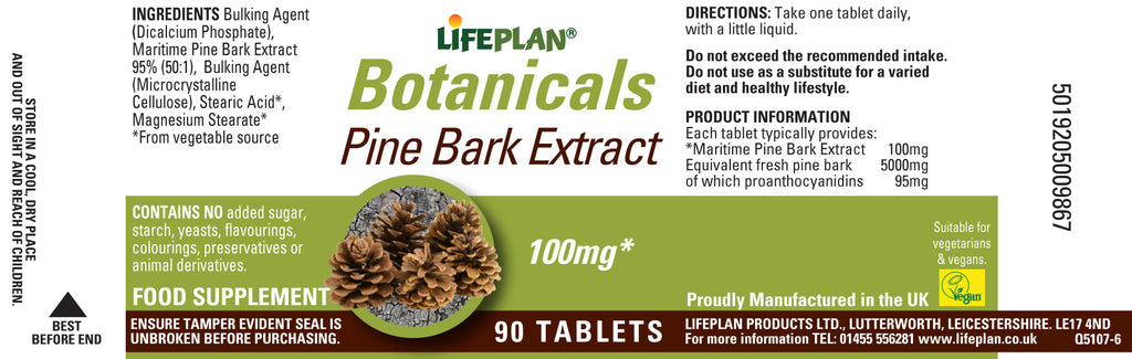 Pine Bark Extract 90 Tabs