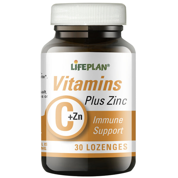 Lifeplan Vitamin C & Zinc 30 lozenges | Lifeplan