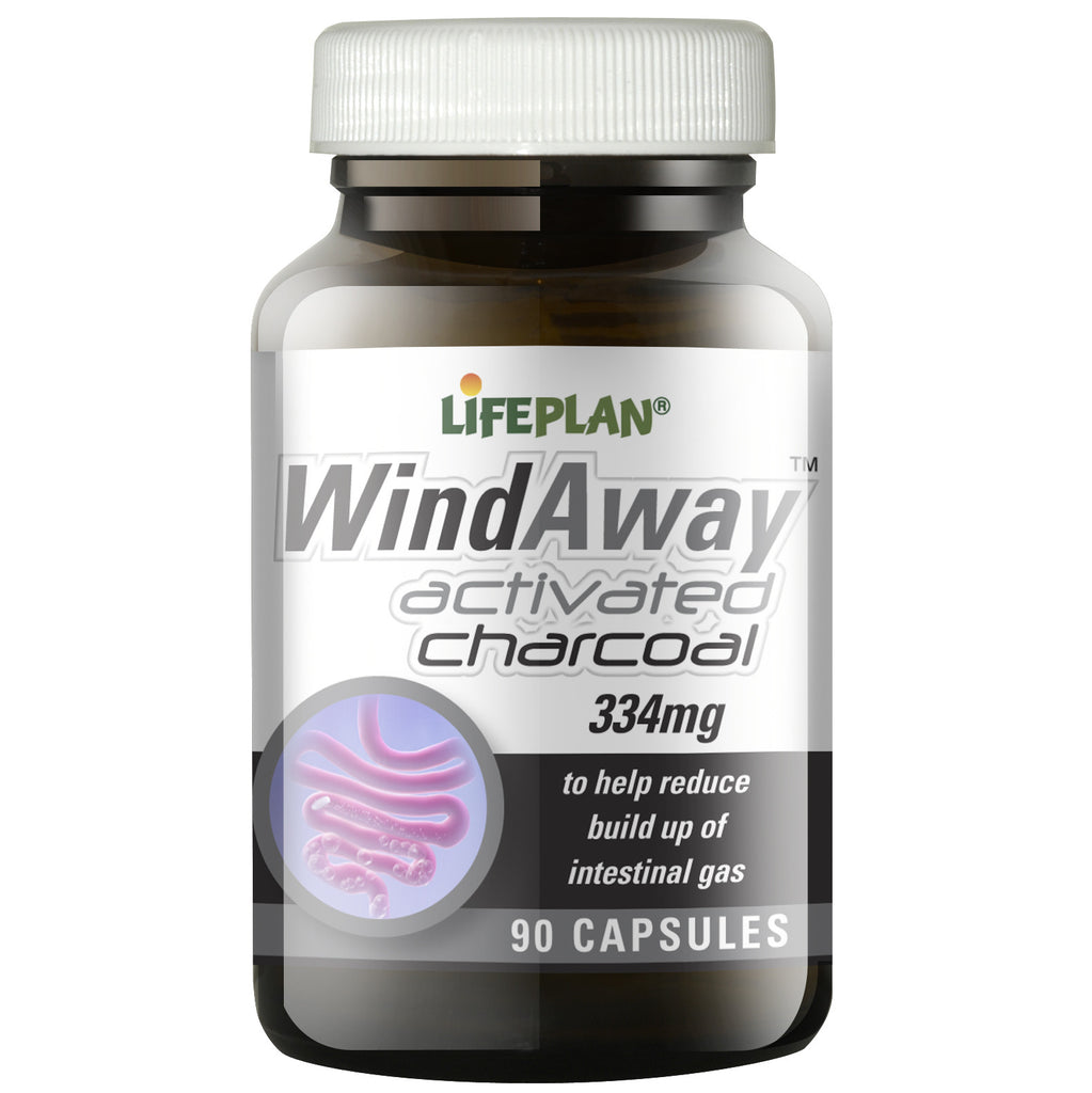 Windaway Activated Charcoal 90 Caps