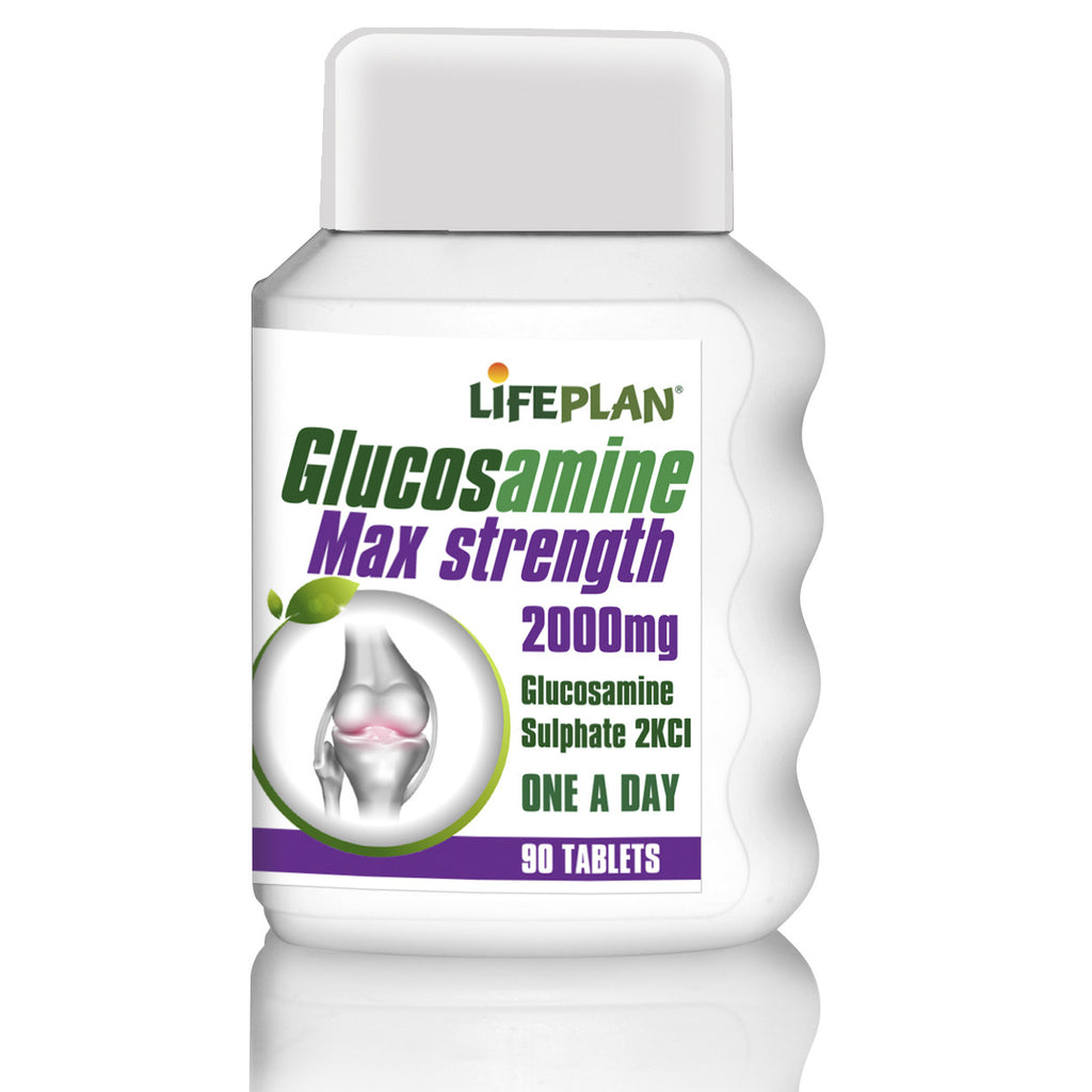 Glucosamine Max Strength 2000mg 90 Tablet