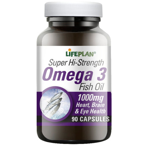 Super Hi-strength Omega 3 Fish Oils  90 caps