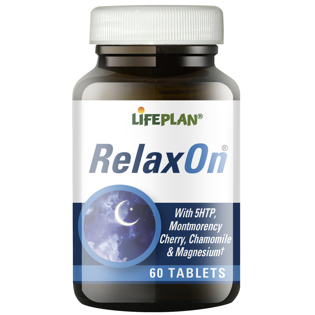 RelaxOn with 5HTP 60 Tablets