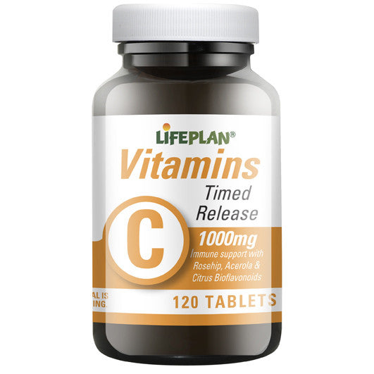 Vitamin C Time Release 120 tablets