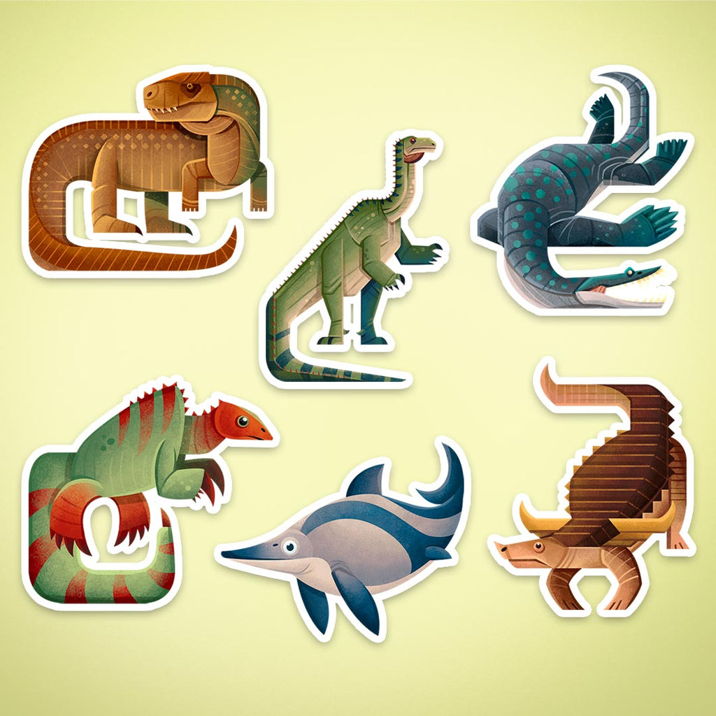 Triassic stickers giveaway