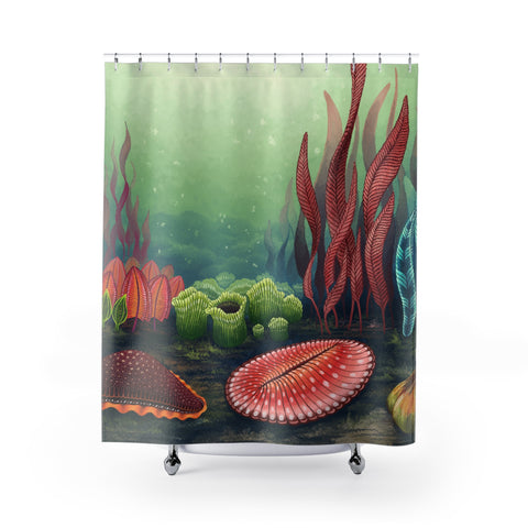 Garden of Ediacara Shower Curtain