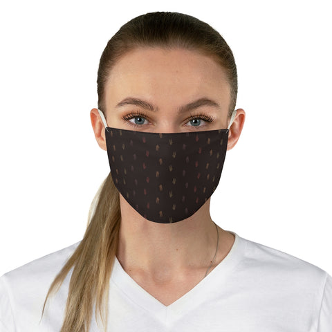 Dromie Tracks cloth face mask