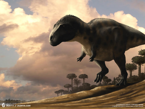 Acrocanthosaurus Digital Wallpaper