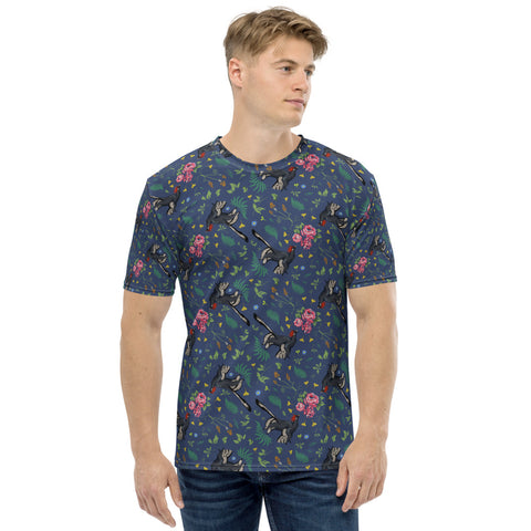 Anchiornis all-over print men's t-shirt