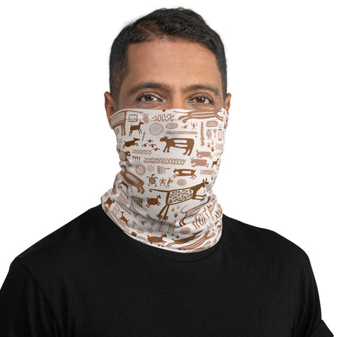 Cerro Azul Rock Art neck gaiter