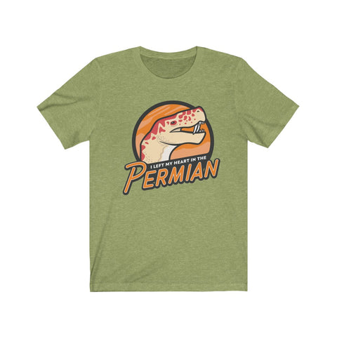 I Left My Heart in the Permian t-shirt