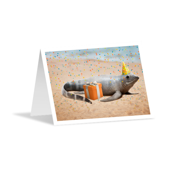 Birthday Greeting Card - Cartorhynchus