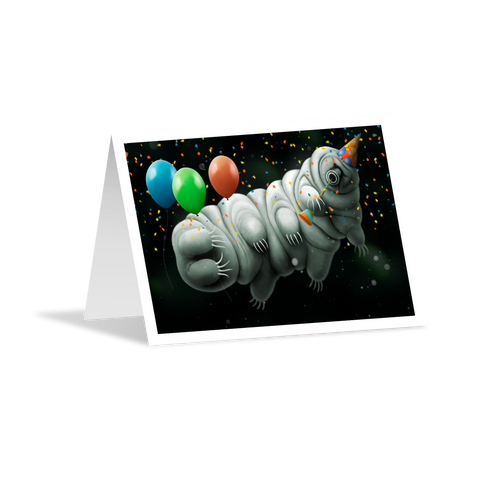 Birthday Greeting Card - Tardigrade