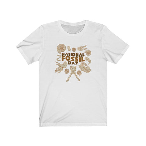 National Fossil Day unisex t-shirt