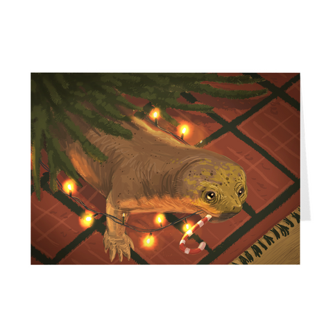 Cistecephalus holiday greeting card