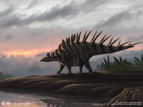 Kentrosaurus Digital Wallpaper