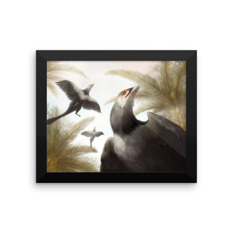 Archaeopteryx framed print