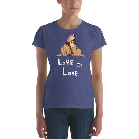 Love Is Love women's Pride t-shirt