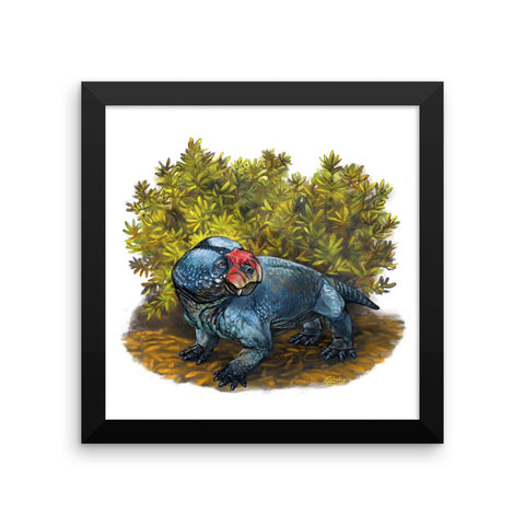 Bulbasaurus framed print