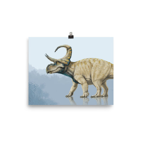Machairoceratops poster