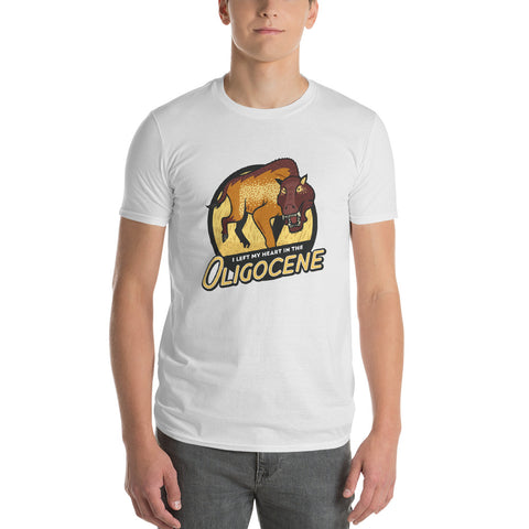I Left My Heart in the Oligocene t-shirt