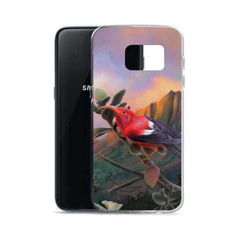 Hawaiian Honeycreeper Samsung Case