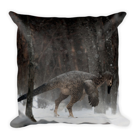 Alaskan troodontid pillow