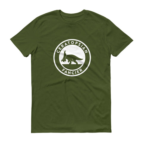 Ceratopsian Fancier t-shirt