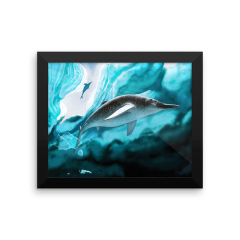 Arthropterygius framed print