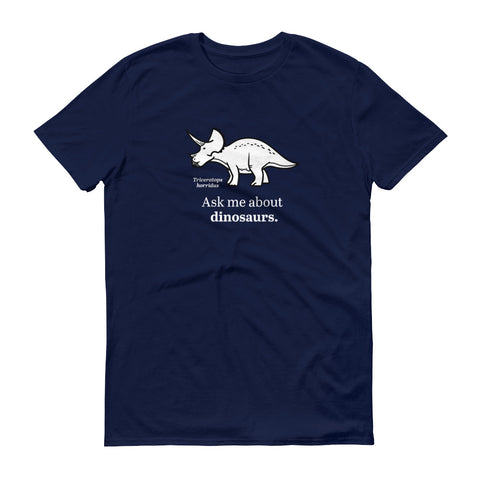 Ask Me About Dinosaur Evolution t-shirt