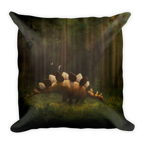 Stegosaurus pillow