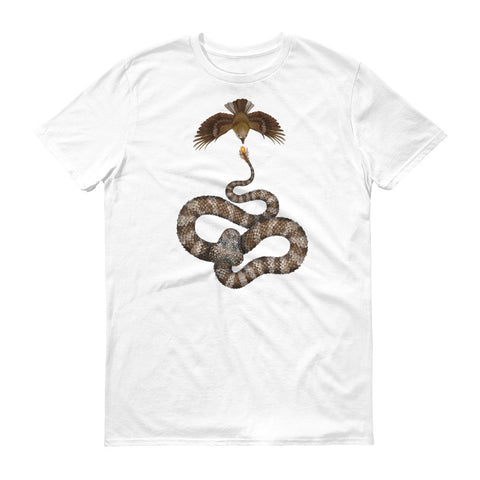 Spider-tailed horned viper t-shirt