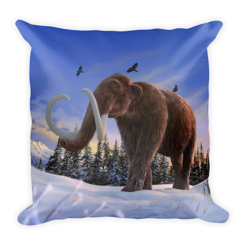 Woolly mammoth pillow