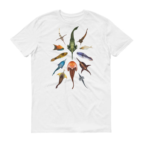 Jawless fishes t-shirt