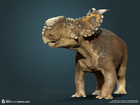 Pachyrhinosaurus Digital Wallpaper