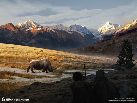 Pleistocene Glaciation Digital Wallpaper