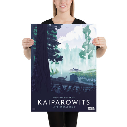 Kaiparowits Paleo Parks poster