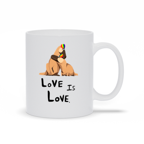 Love Is Love Pride mug