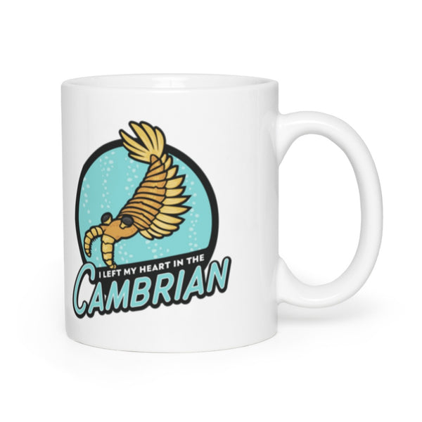 I Left My Heart in the Cambrian mug