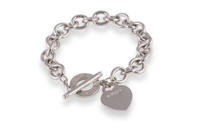 Designer, silver, bling, 925, jewellery, diamonds, Bracelet, belcher, heart, Tiffany, amor bracelet,
