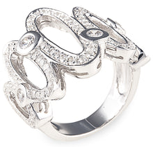 Charger l'image dans la galerie, allegra ring, tiffany, heart, silver, necklace, chain, ring, bling, diamond,