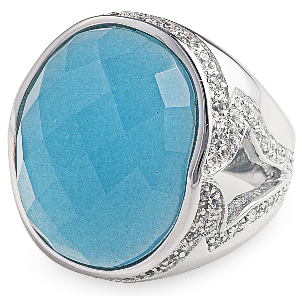 Sky Blue Lopez Ring