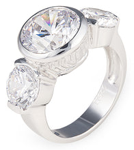 Load image into Gallery viewer, shine bright like a diamond ring, tiffany, heart, silver, necklace, chain, ring, bling, diamond,