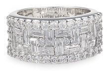Load image into Gallery viewer, santuri ring, angelica ring, tiffany, heart, silver, necklace, chain, ring, bling, diamond,
