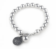 Lade das Bild in den Galerie-Viewer, tiffany, silver, ball, bracelet, jewellery, no bling, casual, heart, contessa bracelet,