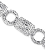 tiffany, silver, designer, bracelet, bling, diamonds, wedding, chanel, fob, rectangle, coco rouge bracelet,