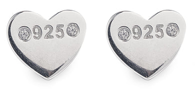 Designer, silver, bling, 925, jewellery, diamonds, heart, Tiffany, amor earrings,